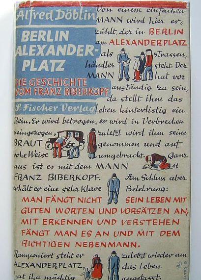 Roman von Alfred Döblin: Berlin Alexanderplatz