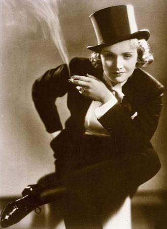 Schauspielerin Marlene Dietrich