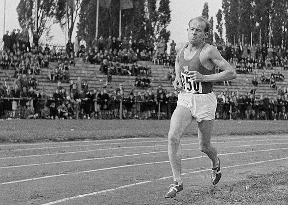 Athlet Emil Zátopek