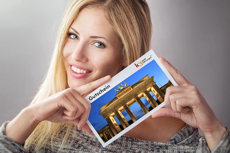 Gutschein für eine Stadtführung in Berlin