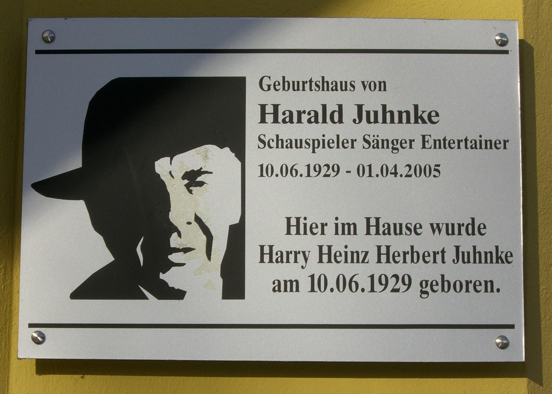 Harald Juhnke - Schauspieler, Sänger und Entertainer