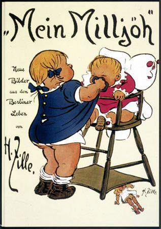 """Zille-Milieu-Zeichnung """"Mein Milljöh"""""""