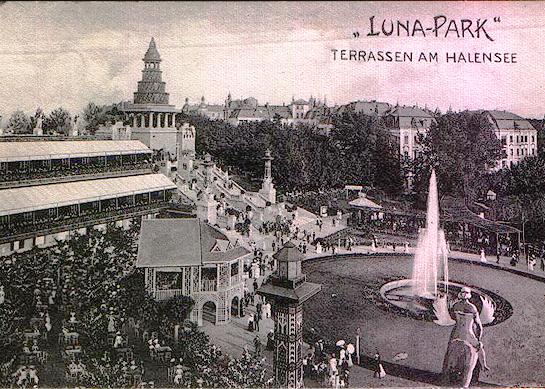 Luna-Park: Terrassen am Halensee 1904