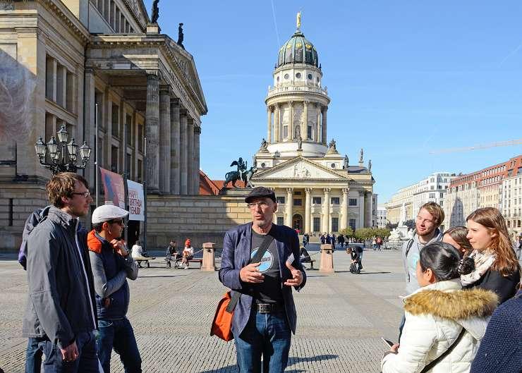 Architekturführung Berlin am Gendarmenmarkt: Konzerthaus und Fr