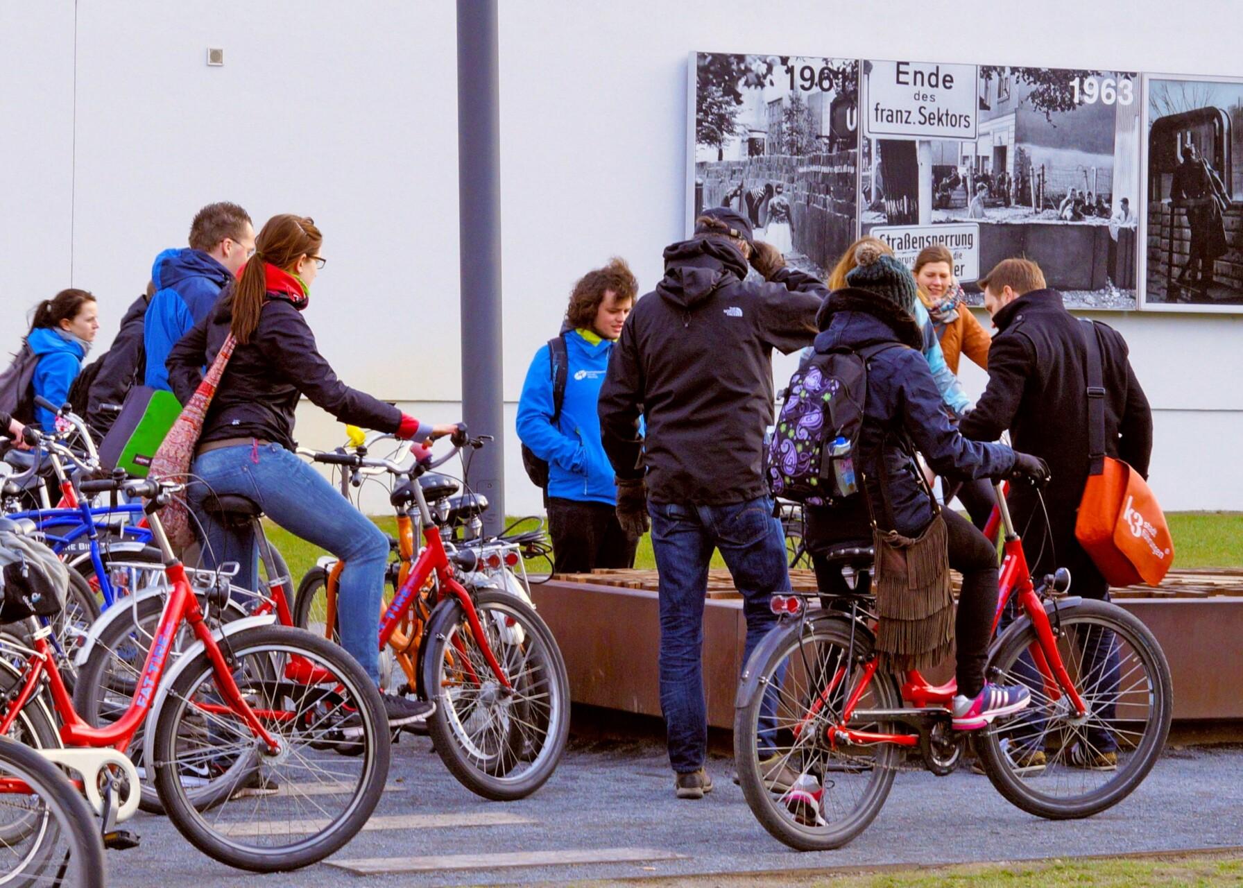 Mauertour an der Bernauer Straße