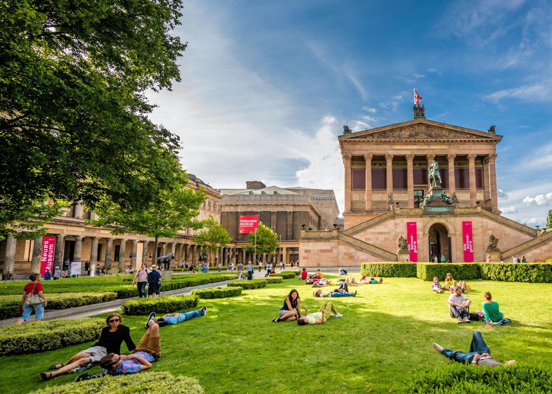 "Station des Stadtrundgans ""Berlins alte Mitte"": die Museumsinsel"