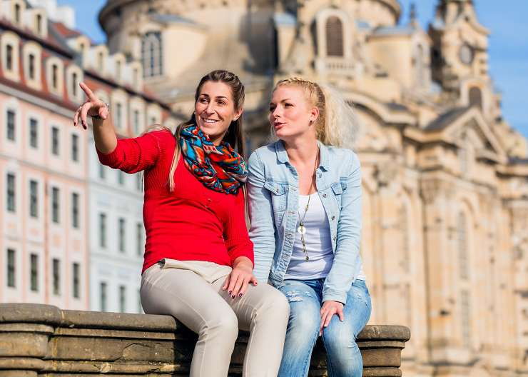 Sightseeing in Dresden