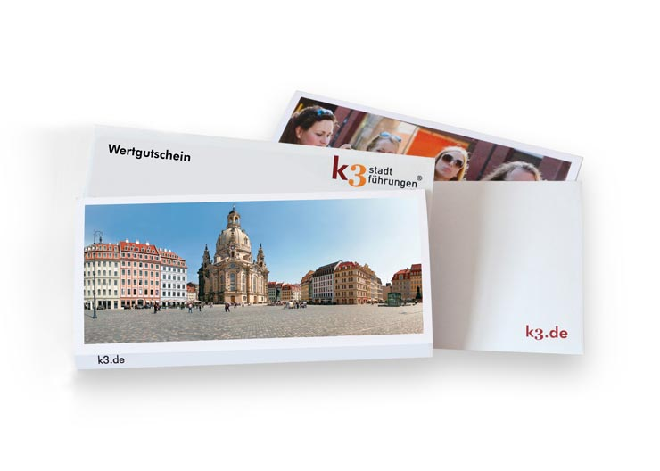 Gutschein von k3 stadterlebnisse Dresden