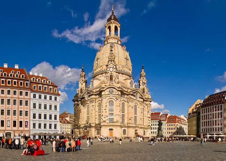 Frauenkirche, Station der Kirchenführung