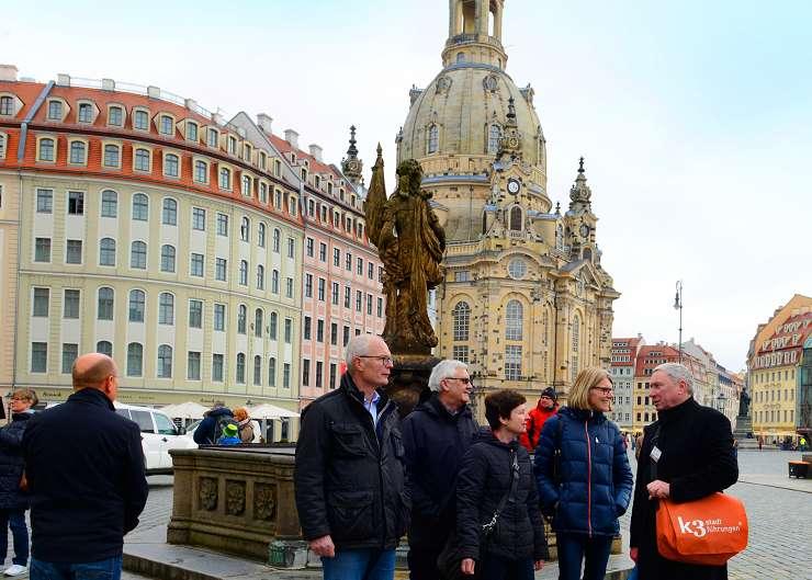 Kirchenführung durch Dresdens Altstadt