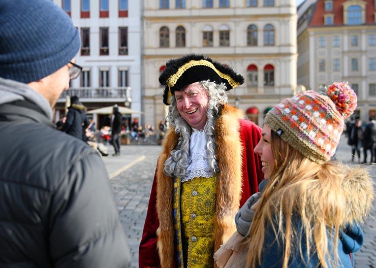 """Kostümführung Dresden """"August der Starke"""""""