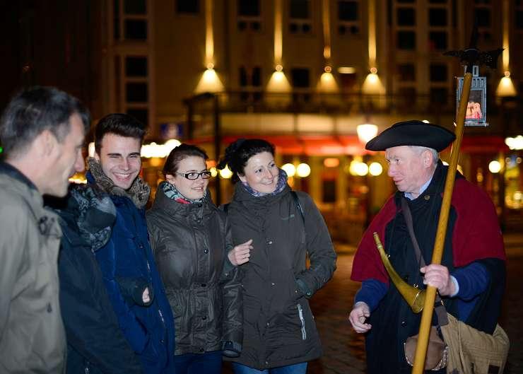 Nachtwächterrundgang Dresden