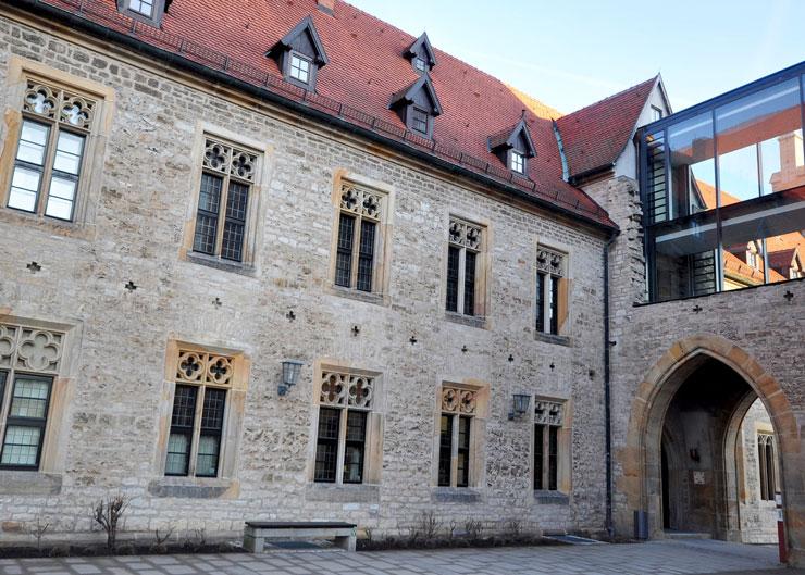 Augustinerkloster zu Erfurt: Hier lebte Martin Luther von 1505-1511