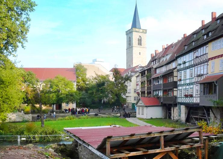 """Die bei archäologischen Arbeiten in Erfurt gefundene Mikwe ist eines der Highlights der Führung """"Jüdisches Leben"""""""