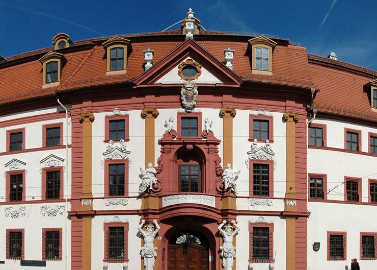 Station beim Goethe und Schiller Stadtrundgang: Kurmainzische Statthalterei