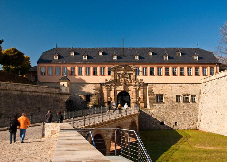 Zitadelle Petersberg in Erfurt – Stadtfestung des 17. bis 19. Jahrhunderts
