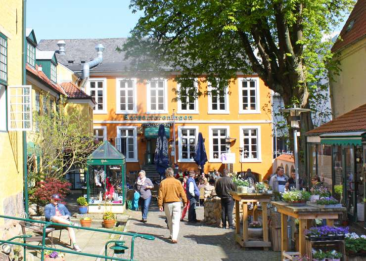 Kaufmannshof Borgerforeningen in Flensburg