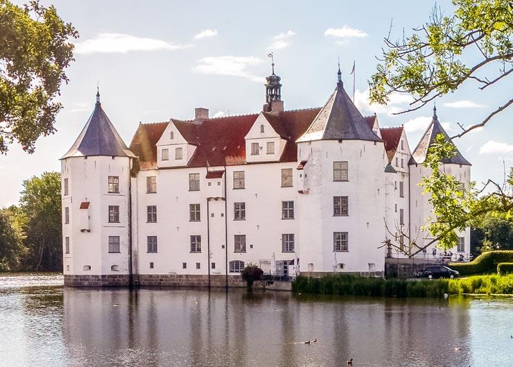 Schloss Glücksburg an der Flensburger Förde