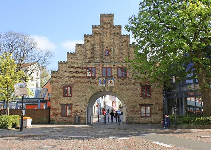 Nordertor: Station der Stadtführung Flensburg