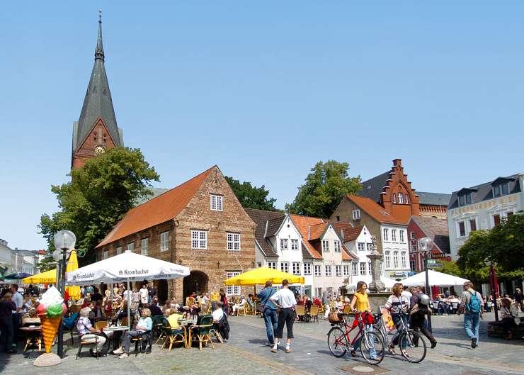 Stadtrundgang über den Nordermarkt zur Marienkirche