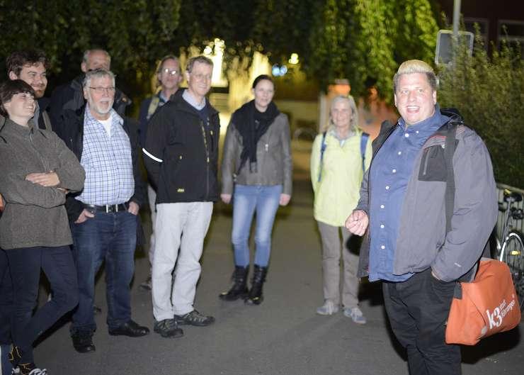 Taschenlampentour in Flensburg