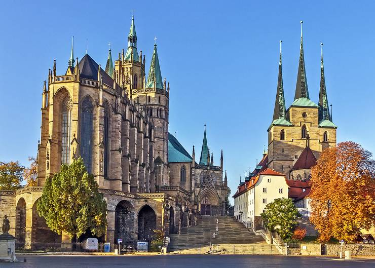 Sightseeing in Erfurt