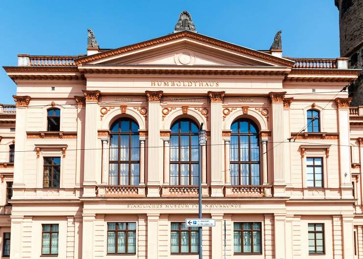 Station der Architekturführung durch Görlitz: Humboldthaus in Görlitz