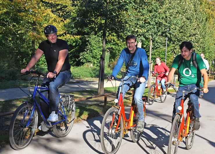 Klostertour mit dem Fahrrad