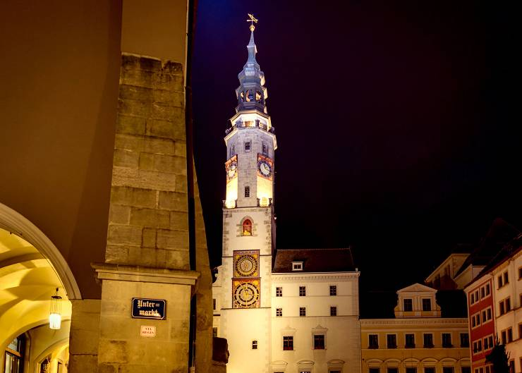 Station der Sagenführung Görlitz: Altes Rathaus