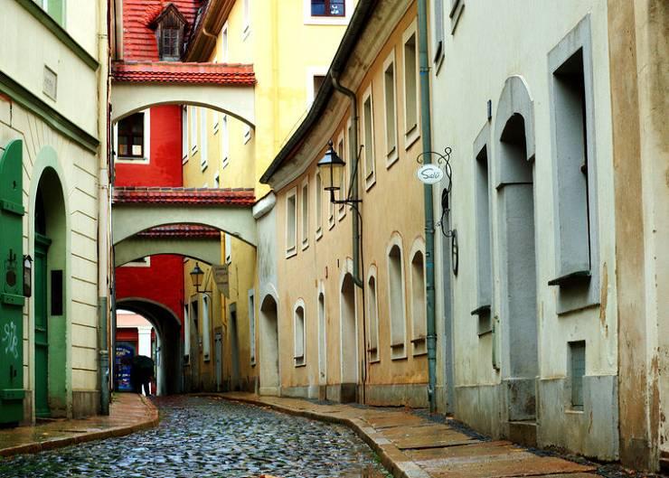 Schwarze Straße in Görlitz
