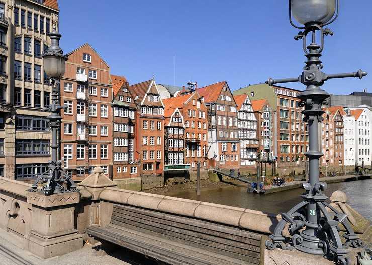 Bürgerhäuser der Deichstrasse