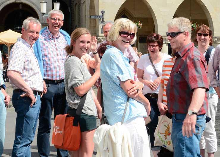 Stadtrundgang durch Hannover