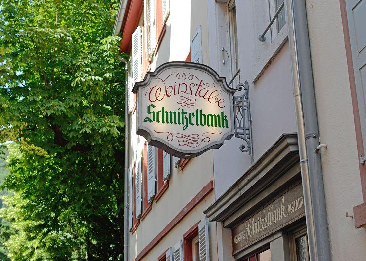 """Weinstube """"Schnitzelbank"""""""