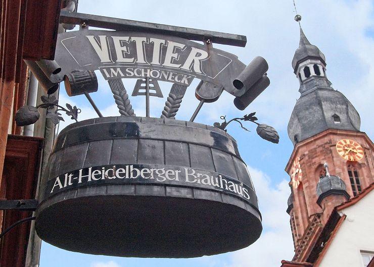 Vetters Bier-Brauhaus in Heidelberg