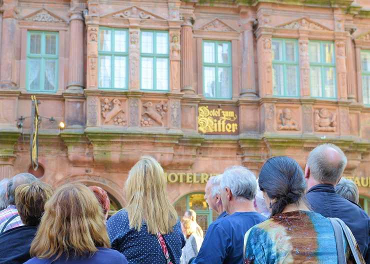 Abendführung in Heidelberg
