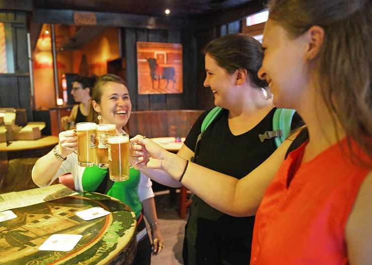 Bierprobe in Heidelberg
