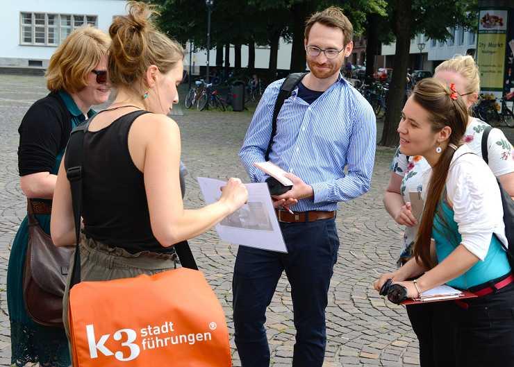 Lavoro secondario: guida turistica di Heidelberg