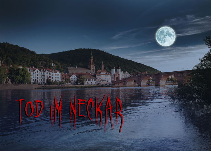 Krimidinner in Heidelberg: Tod im Neckar