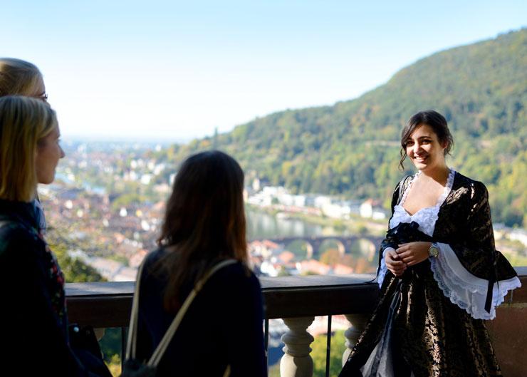 Nachtwächtertour mit Liselotte von der Pfalz