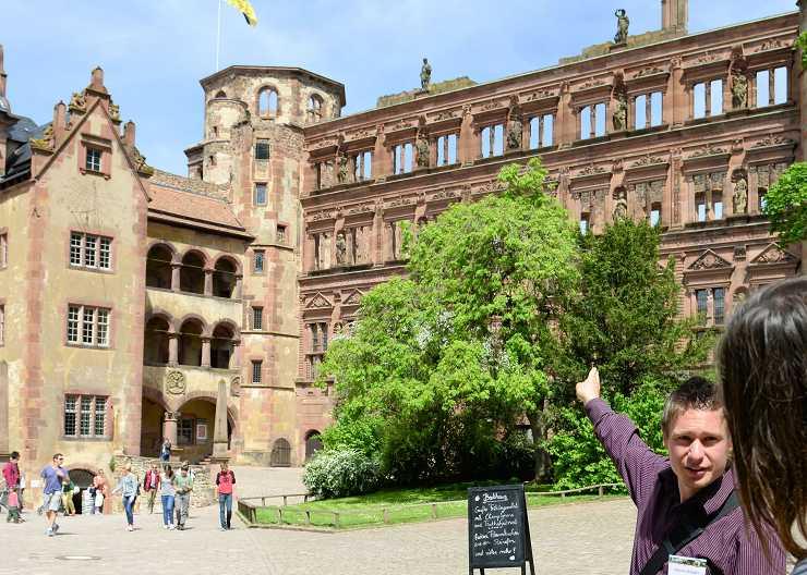 Schlossführung Heidelberg mit Dennis Schäfer