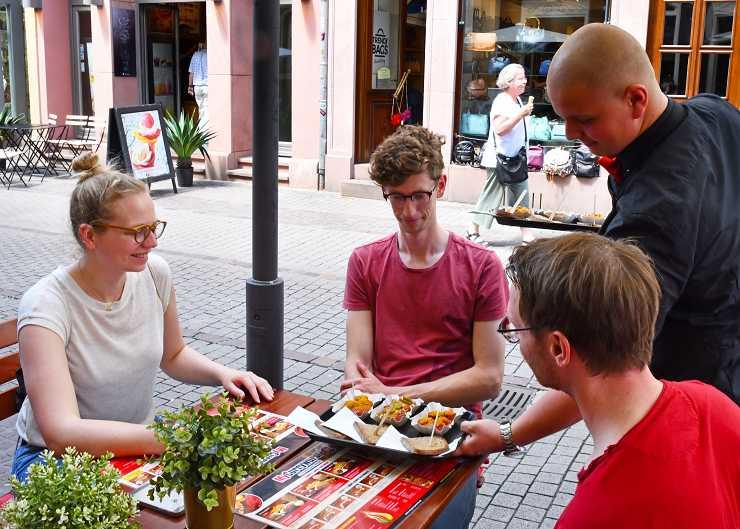 Stadtführung mit Essen in Heidelberg