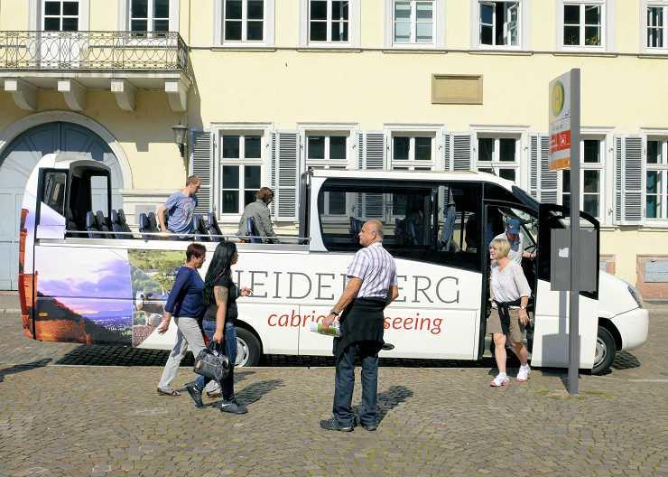Stadtrundfahrt Heidelberg mit dem Cabriobus