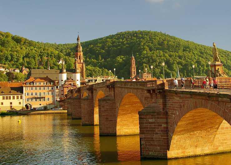 Alte Brücke (Pont Vieux) de Heidelberg