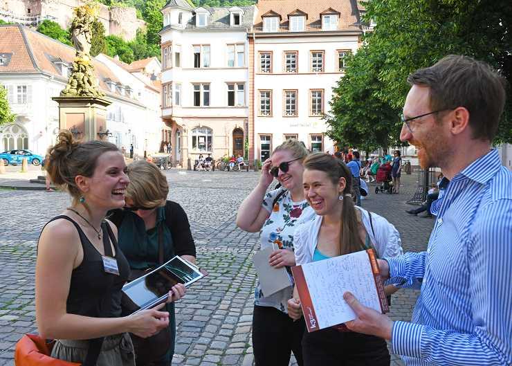 Teambuilding-Veranstaltung in Heidelberg