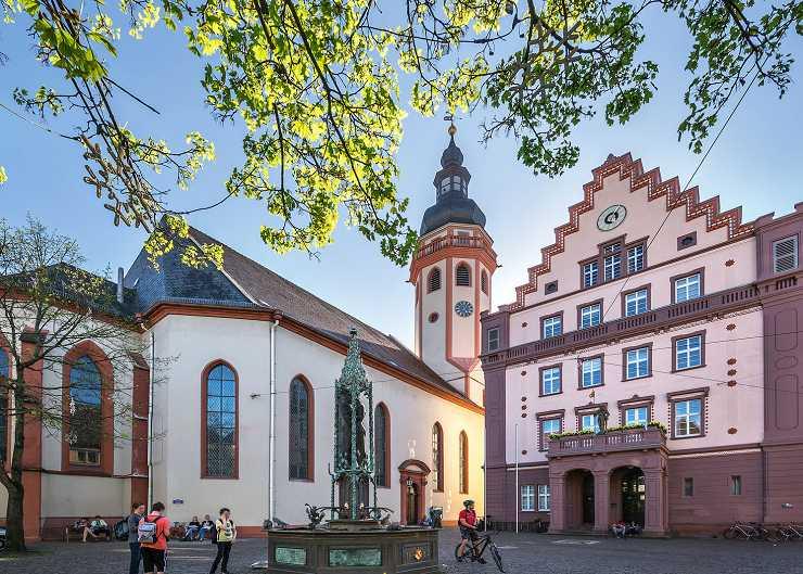 Marktplatz in Karlsruhe-Durlach