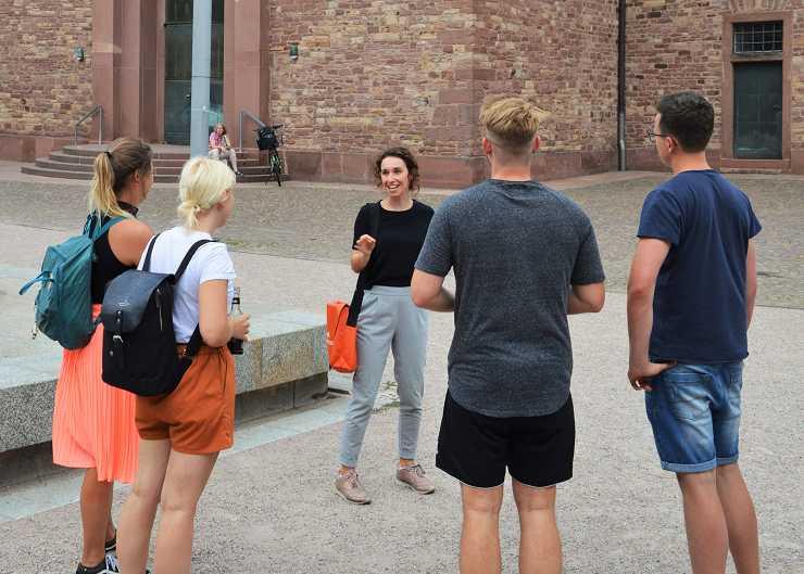 Sightseeing Tour durch Karlsruhe