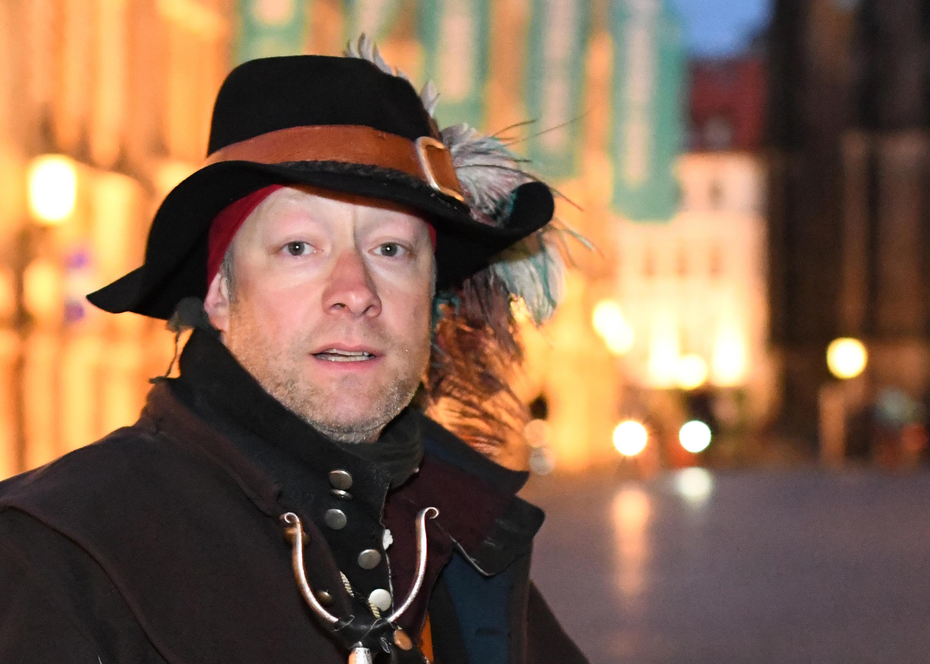 Nachtwächter-Tour in Karlsruhe