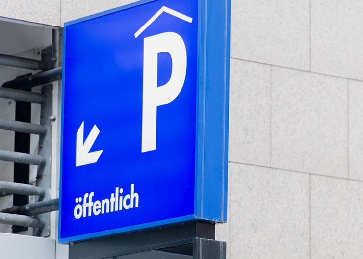 Parken in Köln, Parkplätze und Parkhäuser