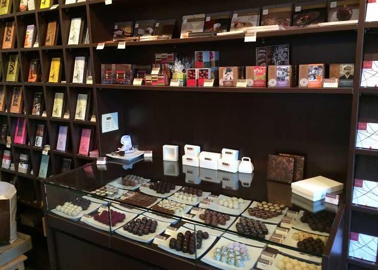 Schokoladenköstlichkeiten im Amaro in Lübeck