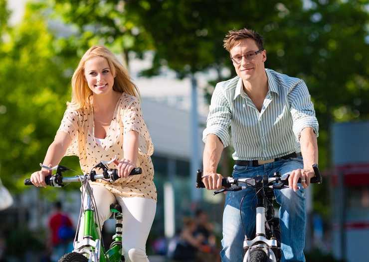 Fahrradtour in Lübeck